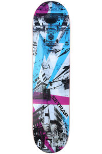 "Trap Skateboards Street Series Jungfernstieg 7.75"" Deck (multi)"