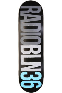 Radio RADIOBLN 8.5&quot; Deck (black)