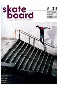 Skateboard MSM Monster Skateboard Magazin # 319 2013