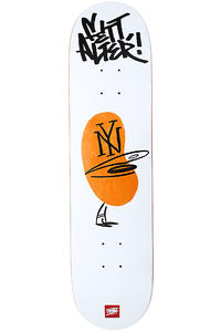 "MOB Skateboards Team Fett Cap 7.75"" Deck (white)"