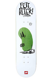 MOB Skateboards Team Fett Bottle 8.25&quot; Deck (white)