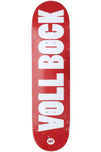 "MOB Skateboards Voll Bock 8"" Deck (red)"