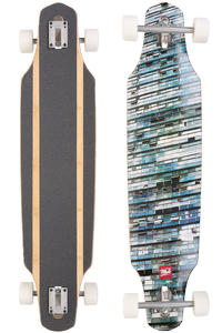 "MOB Skateboards Windows 8ply 39.5"" (100,3cm) Complete-Longboard (blue)"