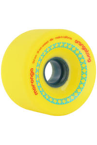 Orangatang Moronga 72.5mm 86a Wheel 4er Pack  (yellow)