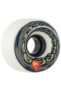 MOB Skateboards Swanski 62mm Wheel 4er Pack  (white)