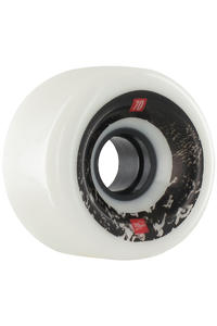 MOB Skateboards Control 70mm Wheel 4er Pack  (white)