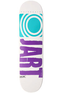 Jart Skateboards Logo Basic Mini SP13 7.2&quot; Deck (white)