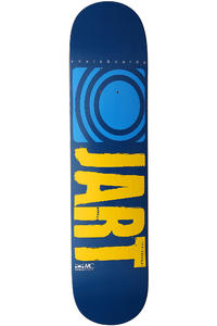 "Jart Skateboards Logo Basic SP13 7.375"" Deck (blue yellow)"