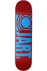 "Jart Skateboards Logo Basic SP13 7.5"" Deck (red blue)"