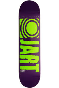 "Jart Skateboards Logo Basic SP13 7.75"" Deck (purple green)"