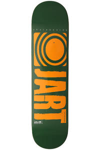"Jart Skateboards Logo Basic SP13 7.875"" Deck (green orange)"
