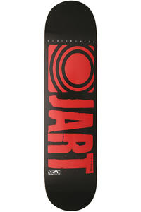 "Jart Skateboards Logo Basic SP13 8"" Deck (black red)"