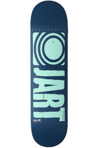 Jart Skateboards Logo Basic SP13 8.125&quot; Deck (blue turquoise)
