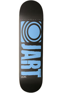 Jart Skateboards Logo Basic SP13 8.25&quot; Deck (grey blue)