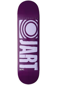 Jart Skateboards Logo Basic SP13 8.375&quot; Deck (purple light blue)