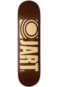 Jart Skateboards Logo Basic SP13 8.5&quot; Deck (brown beige)