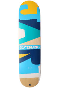 "Jart Skateboards Alpha II Logo 7.75"" Deck (multi)"