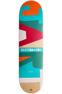 Jart Skateboards Alpha II Logo 8.25&quot; Deck (multi)