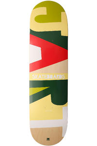 "Jart Skateboards Alpha II Logo 8.375"" Deck (multi)"