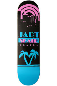 "Jart Skateboards 80s Logo 8.25"" Deck (black blue)"