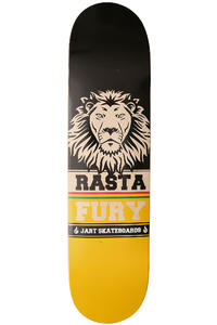 Jart Skateboards Rastafury 8&quot; Deck (black yellow)