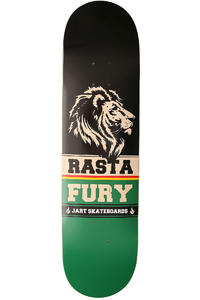 "Jart Skateboards Rastafury 8.125"" Deck (black green)"