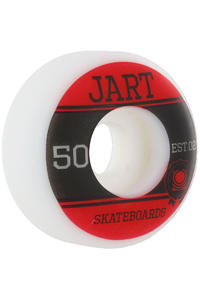 Jart Skateboards Campus Logo 50mm Rollen 4er Pack  (red black)