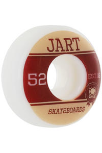 Jart Skateboards Campus Logo 52mm Wheel 4er Pack  (beige brown)