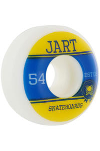Jart Skateboards Campus Logo 54mm Wheel 4er Pack  (yellow blue)