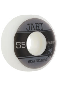 Jart Skateboards Campus Logo 55mm Wheel 4er Pack  (grey black)