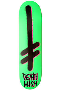 "Deathwish Gang Logo 8"" Deck (green black pink)"