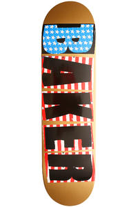 "Baker Brand Logo USA 8.25"" Deck (gold)"