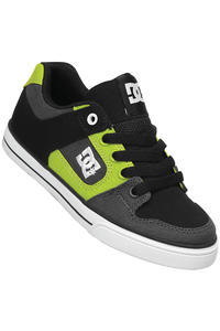 DC Pure Canvas Schuh kids (grey lime green)