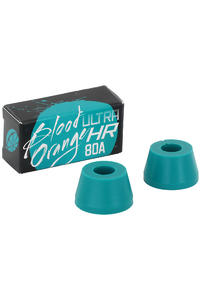 Bloodorange Ultra HR Cone 80a Bushings 2er Pack  (aqua)