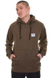 Trap Skateboards Udd SP13 Hoodie (heather brown black)