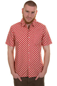 Vans Winsor Shortsleeve-Shirt (reinvent red white)