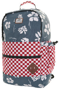 Vans Van Doren II Backpack (red check navy aloha)