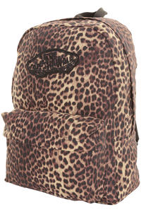 Vans Realm Backpack girls (leopard black)