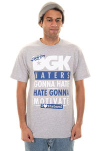 DGK Skateboards Gonna Motivate T-Shirt (athletic heather)