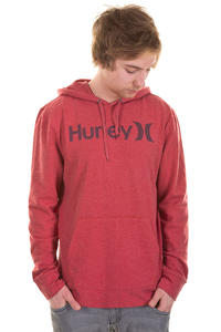Hurley One & Only SP13 Hoodie (heather red)