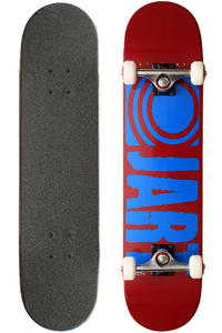 "Jart Skateboards Logo Basic SP13 7.5"" Komplettboard (red blue)"