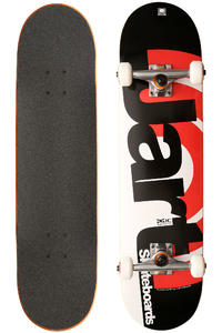 "Jart Skateboards Duo III Logo 8"" Komplettboard (black red)"