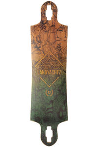 "Landyachtz Switchblade SP13 38"" (96,5cm) Longboard Deck (green)"