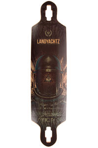 "Landyachtz Drop Speed 38.5"" (97,8cm) Longboard Deck (black blue)"