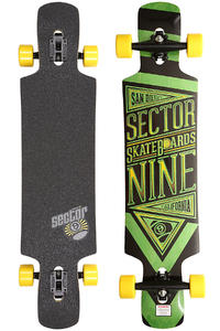 Sector 9 Slingshot 40.5&quot; (102,9cm) Complete-Longboard (green)