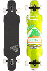 "Sector 9 Dropper SP13 41.8"" (106,2cm) Komplett-Longboard (green)"