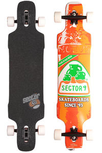 "Sector 9 Dropper SP13 41.8"" (106,2cm) Komplett-Longboard (orange)"
