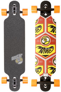 Sector 9 Seeker 37&quot; (94cm) Complete-Longboard (red)
