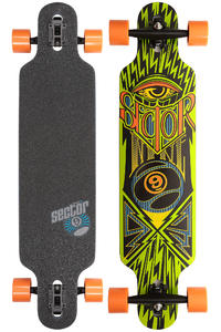 "Sector 9 Seeker SP13 39"" (99cm) Komplett-Longboard (green)"