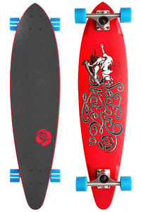Sector 9 The Express 34.5&quot; (87,5cm) Complete-Longboard (red)